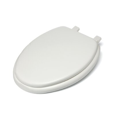 Fantasia Soft Elongated Toilet Seat Finish: White