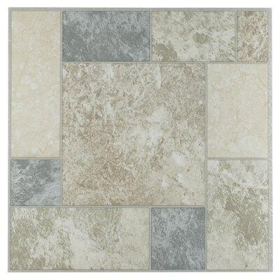 Tivoli Marble Blocks 12 x 12 x 1.2mm Luxury Vinyl Tile