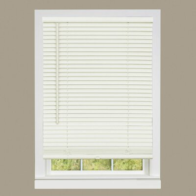 Deluxe Sundown Gii Room Darkening Venetian Blind Size:  33 W x 64 L, Color: Alabaster