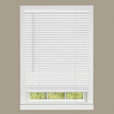Deluxe Sundown Gii Room Darkening Venetian Blind Color: Pearl White, Size:  46 W x 64 L