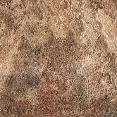 Majestic Rustic Self Adhesive 18 x 18 x 2mm Vinyl Tile in Copper