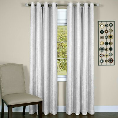 Taylor Blackout Thermal Single Curtain Panel Size: 50 W x 63 L