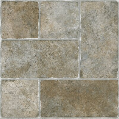 Sterling Cottage Self Adhesive 12 x 12 x 1.2mm Vinyl Tile in Stone