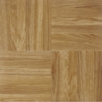 Sterling Square Parquet Self Adhesive 12 x 12 x 1.2mm Vinyl Tile in Beige