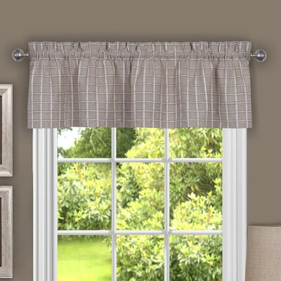 Sydney 58 Curtain Valance Color: Linen