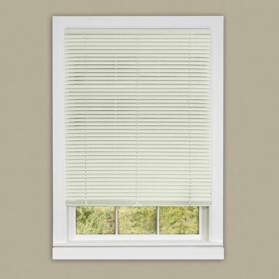 Deluxe Sundown Cordless Room Darkening Venetian Blind Color: White, Size:  33 W x 64 L