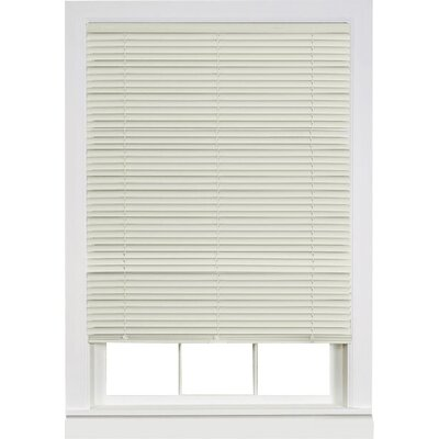 Deluxe Sundown Cordless Room Darkening Venetian Blind Size:  35 W x 64 L, Color: Alabaster