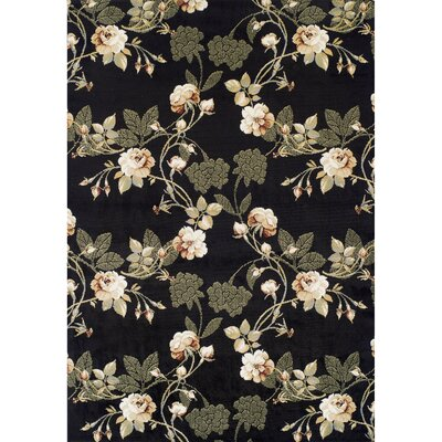 Ferrera Black Area Rug