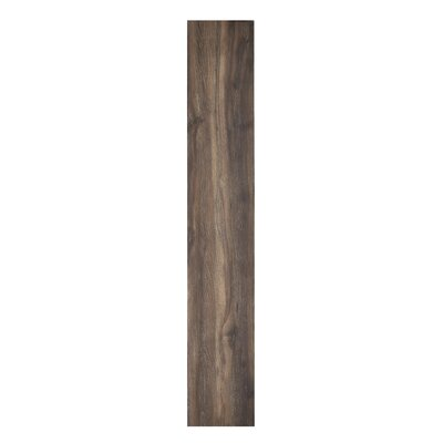 Sterling Self Adhesive 6 x 36 x 2mm Vinyl Plank in Dark Brown