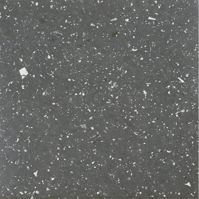 Sterling Speckled Granite Self Adhesive 12 x 12 x 1.2mm Vinyl Tile in Black