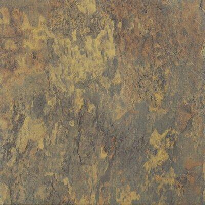 Sterling Rustic Marble Self Adhesive 12 x 12 x 1.2mm Vinyl Tile in Gold/Brown