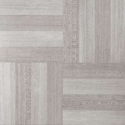 Tivoli Self Adhesive 4 x 4 x 1.5mm Vinyl Tile in Ash Gray Wood