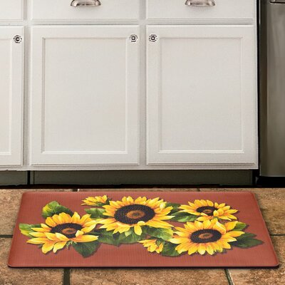 Black Eyed Susan Kitchen Mat