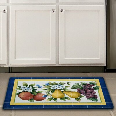Fruity Tiles Kitchen Mat