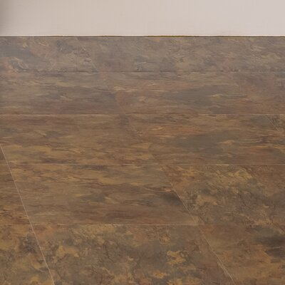 Sterling 12 x 12 x 1.2mm Vinyl Tile in Beige/Brown