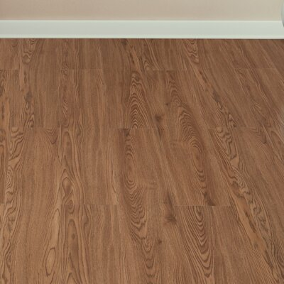 Tivoli II 6 x 36 Peel N Stick Vinyl Planks in Redwood