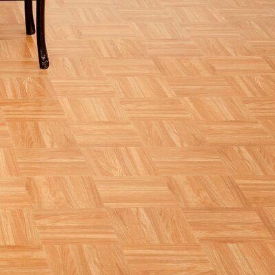 Sterling 12 x 12 x 1.2mm Vinyl Tile in Square Parquet