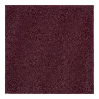 Nexus 12 x 12 Carpet Tile in Red