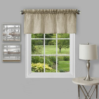 Richmond Window 58 Curtain Valance Color: Tan