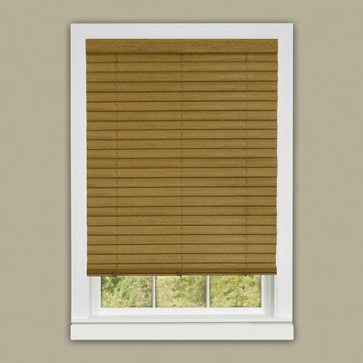 Luna Cordless Venetian Blind Size:  36 W x 64 L, Color: Woodtone
