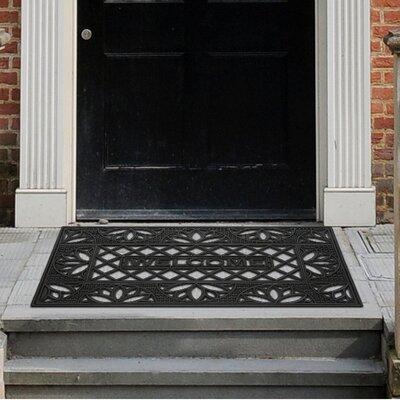 Rubber Tulip Doormat