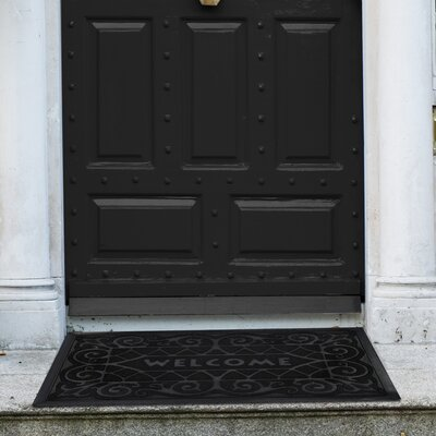 Wrought Iron Doormat Color: Black