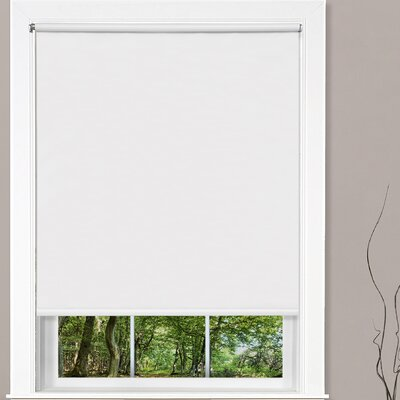 Cords Free Tear Down Light Filtering White Roller Shade Size: 73 W x 72 L