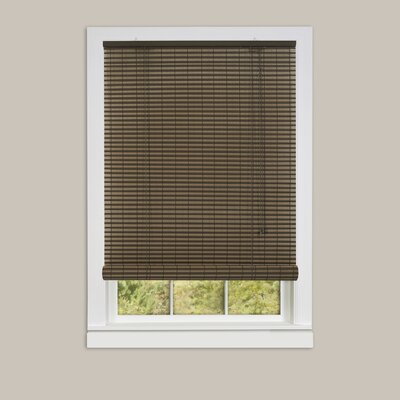Room Darkening Roll-Up Shade Size: 48 W x 72 L, Color: Cocoa/Almond