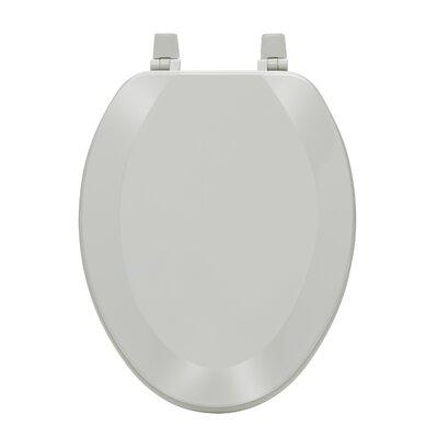 Fantasia Elongated Toilet Seat Finish: Silver