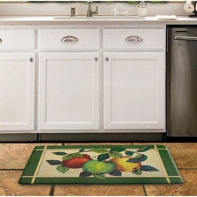 Deracy Apple Orchard Kitchen Mat
