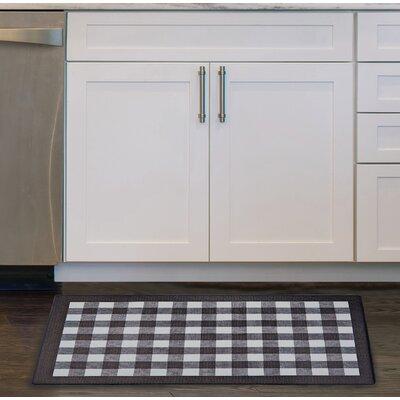 Pickett Anti Fatigue Kitchen Mat Color: Black