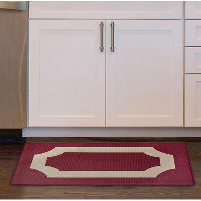 Scally Anti Fatigue Kitchen Mat Color: Marsala