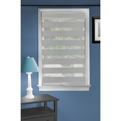Sheer Roll-Up Shade Blind Size: 34 W x 72 L, Blind Color: Gray