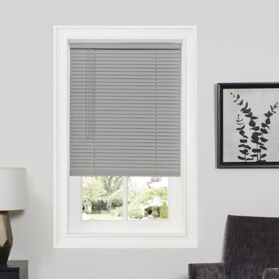 Deluxe Sundown GII Room Darkening Venetian Blind Size: 46 W x 64 L, Color: Grey