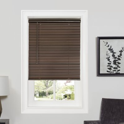Deluxe Sundown GII Room Darkening Venetian Blind Size: 35 W x 64 L, Color: Mahogany