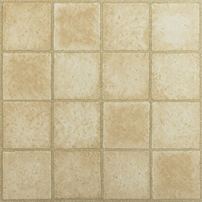 Tivoli 16 Square Self Adhesive 12 x 12 x 1.2mm Vinyl Tile in Sandstone