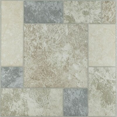 Nexus Self Adhesive 12 x 12 x 1.2mm Vinyl Tile in Marble Blocks