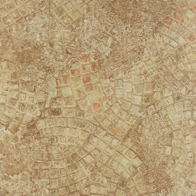 Tivoli Ancient Mosaic Self Adhesive 12 x 12 x 1.2mm Vinyl Tile in Beige