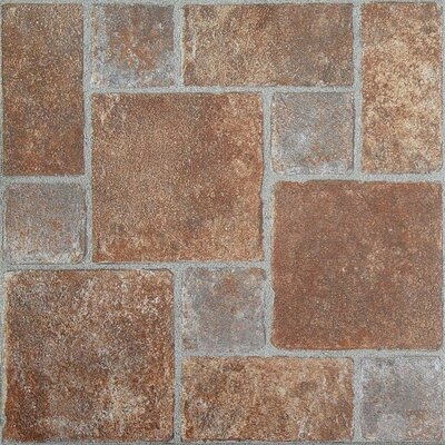 Nexus Self Adhesive 12 x 12 x 1.2mm Vinyl Tile in Brick Pavers