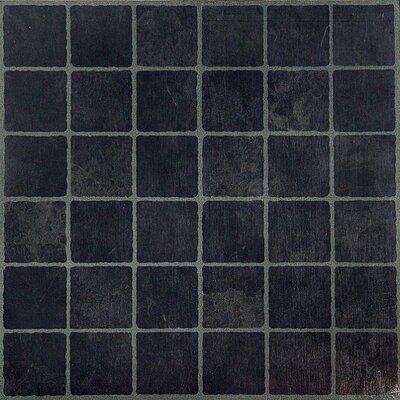 Achim Importing Co Nexus Self Adhesive Dark Slate Checker Board 12