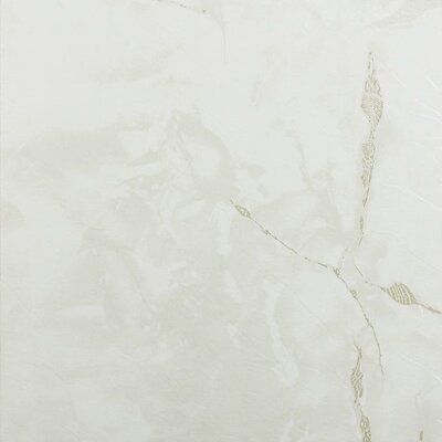 Nexus Self Adhesive 12 x 12 x 1.2mm Vinyl Tile in Classic White with Gray Veins