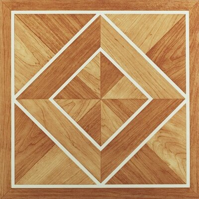 Tivoli Border Inlaid Parquet 12 x 12 x 1.2mm Luxury Vinyl Tile