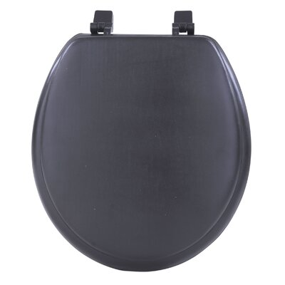 Fantasia Soft Standard Toilet Seat Finish: Black