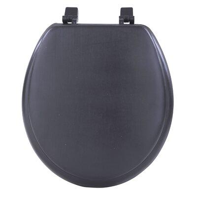Fantasia Soft Standard Toilet Seat Finish: Black