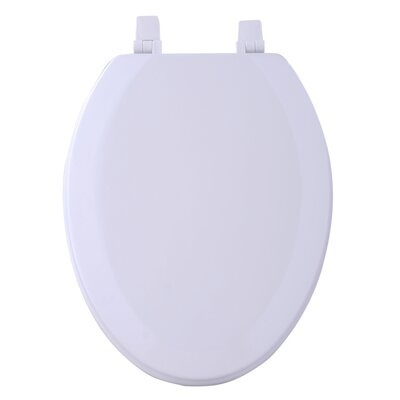 Fantasia Elongated Toilet Seat Finish: White