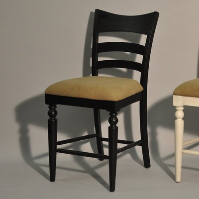 Stonebridge Counter Height Side Chair (Set of 2) Finish: Antique Black