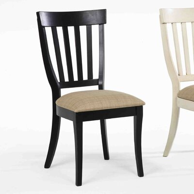 Carrolltown Windsor Side Chair (Set of 2) Finish: Antique Black