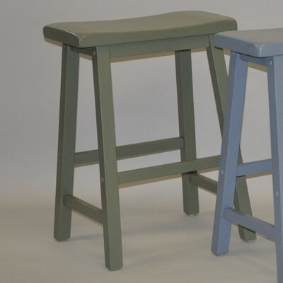 Four Seasons 24 Bar Stool (Set of 2) Finish: Antique Green