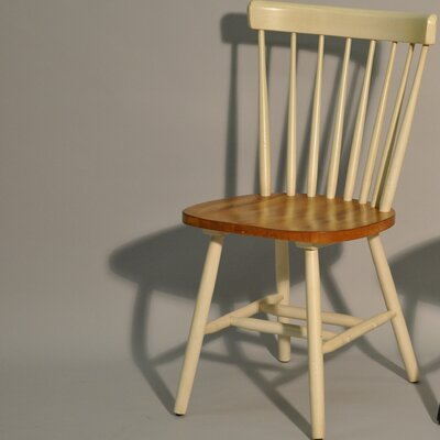 ECI Caprail Side Chair - Finish: Antique White (Set of 2)