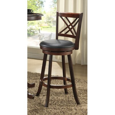 Distressed 24 Swivel Bar Stool (Set of 2)
